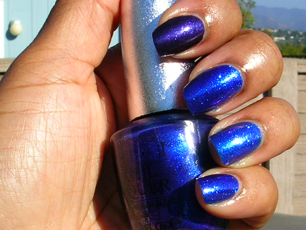 CANDY COATED TIPS: OPI DS Magic Comparison