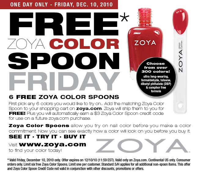 Zoya Nail Polish Color Spoons 37