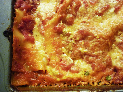Food for Poems: Classic Cheese Lasagna