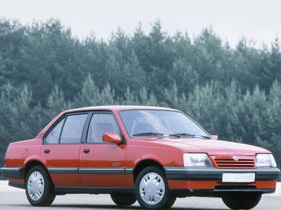 Opel Ascona C, carro que originou o Monza