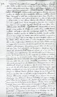 Huwelijksakte Boudewijn Craeye, 23 oktober 1839. Stadsarchief van Brugge.