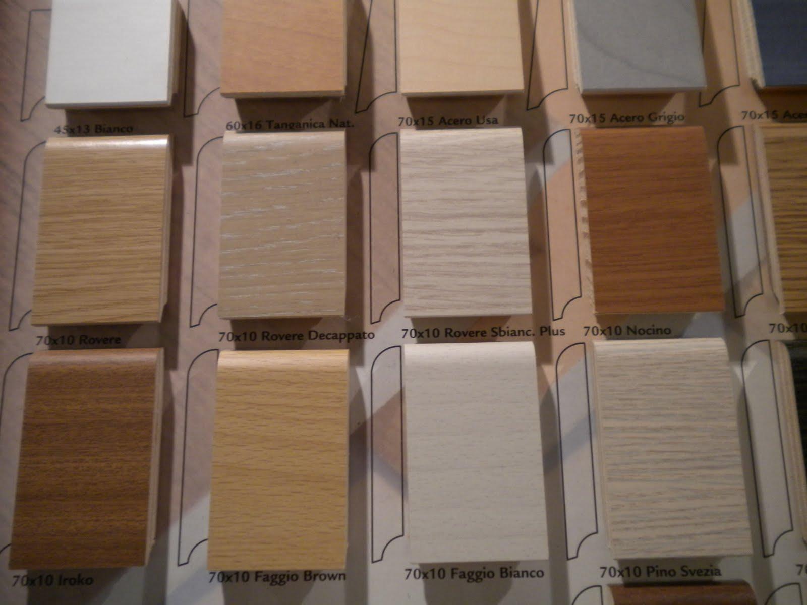 Battiscopa legno 70x10 promonwood 25 essenze all incl ebay for Parquet in pvc ikea