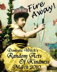 Domestic Witche's Random Acts Of Kindness Giveaway