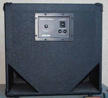 Rex and the Bass: Genz Benz Shuttle 12T Bass Cabinet