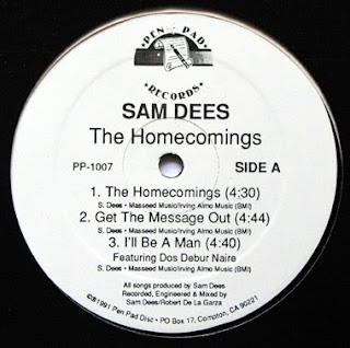 SAM DEES 1991 THE HOMECOMINGS (ep)