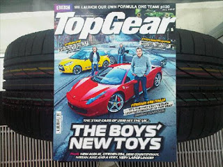 Top Gear Magazine March 2010 with a Tyre