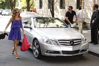 Sarah Jessica Parker is the coolest celebrity with car!