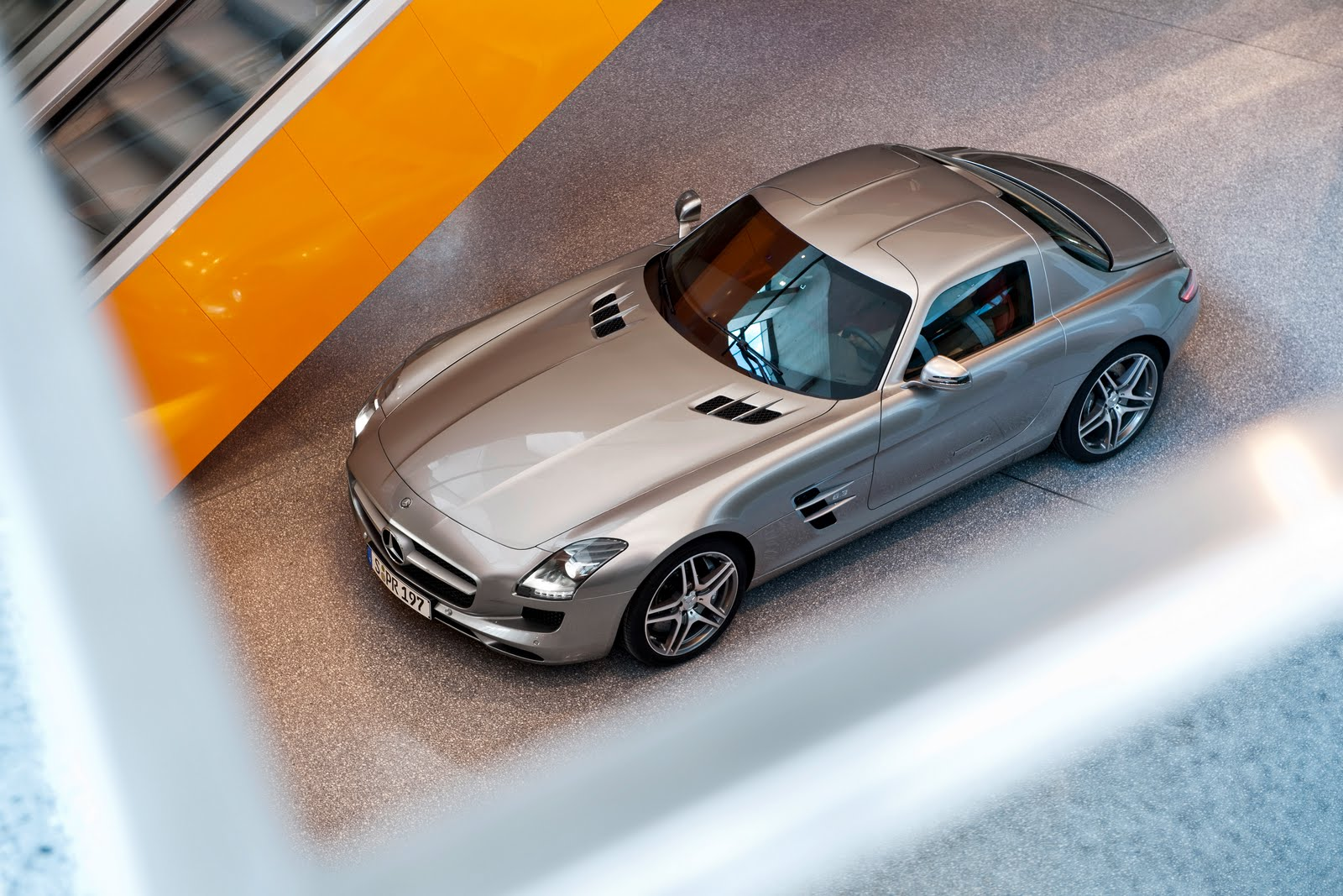 Mercedes SLS AMG, the most