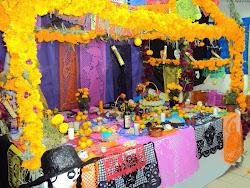 Ofrenda de muertos tradicional de Huasteca Veracruzana