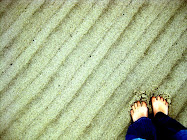 I Love my toes in the sand