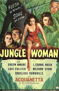 Jungle Woman starring Acquanetta