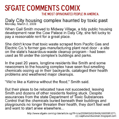 SFGate Comments Comix - March, 2009