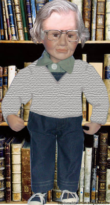 Noam Chomsky Doll