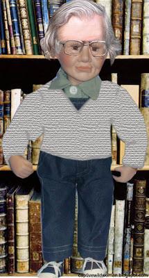 Noam Chomsky Doll