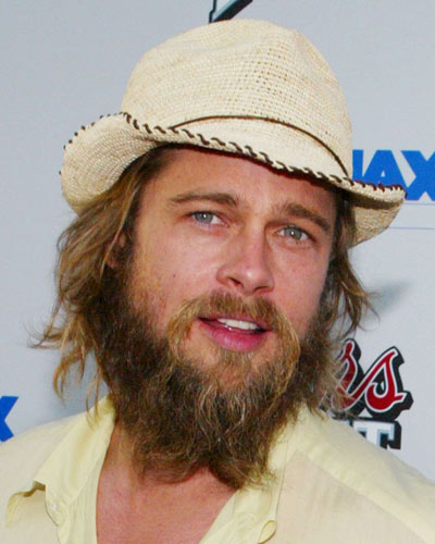 chuckle when I read People.com's letter to Brad Pitt about his beard.