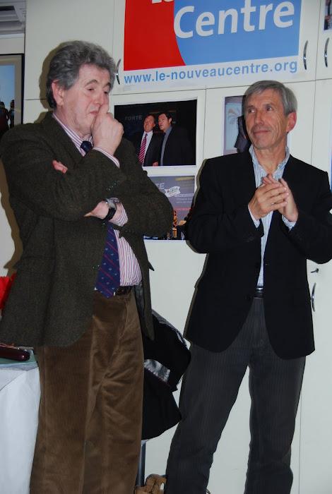 Avec jacques SIRBEN mon directeur de campagne pour les élections cantonales de Mars 2011