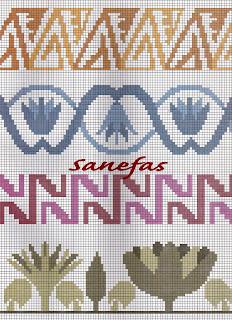 Cenefas para toallas es punto de cruz gratis punto de cruz - Cenefas punto de cruz para toallas de bano ...
