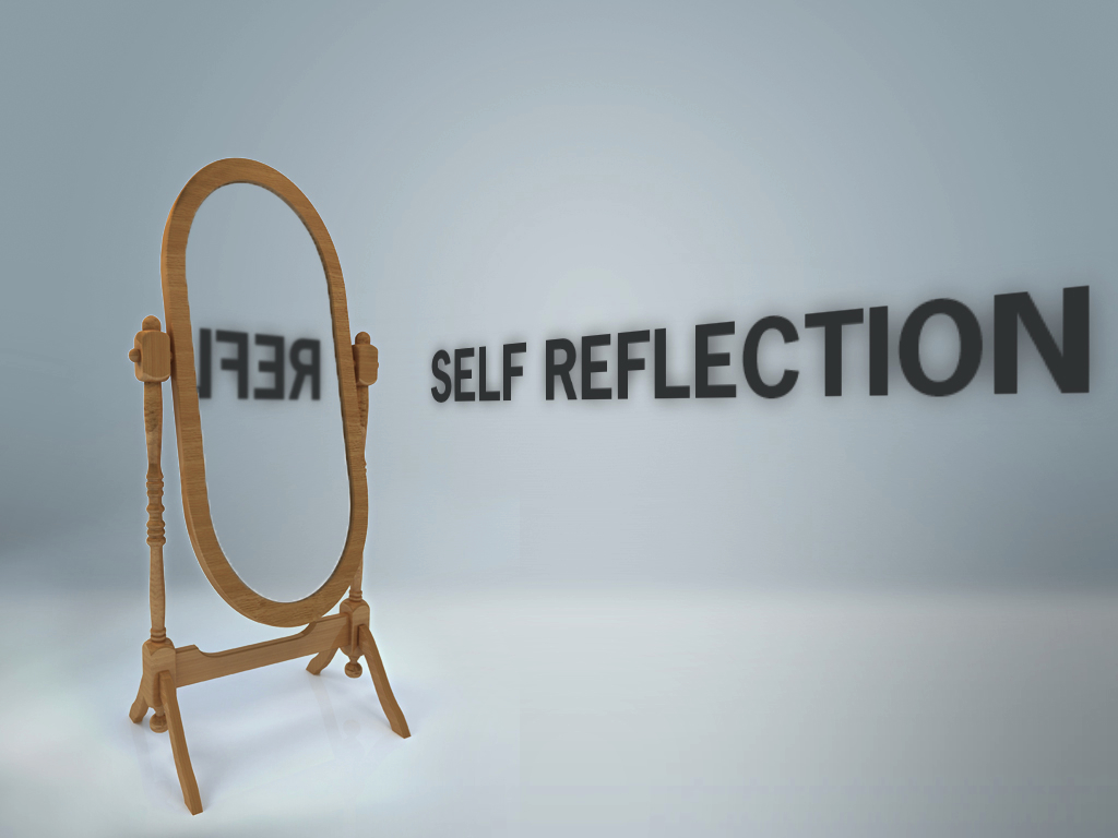 Self reflection quotes for professionals quotesgram for Reflection miroir