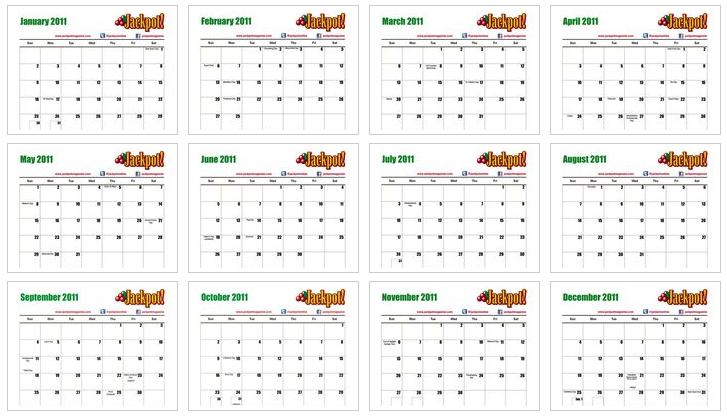 downloadable calendar 2011. Free 2011 Calendar - print or