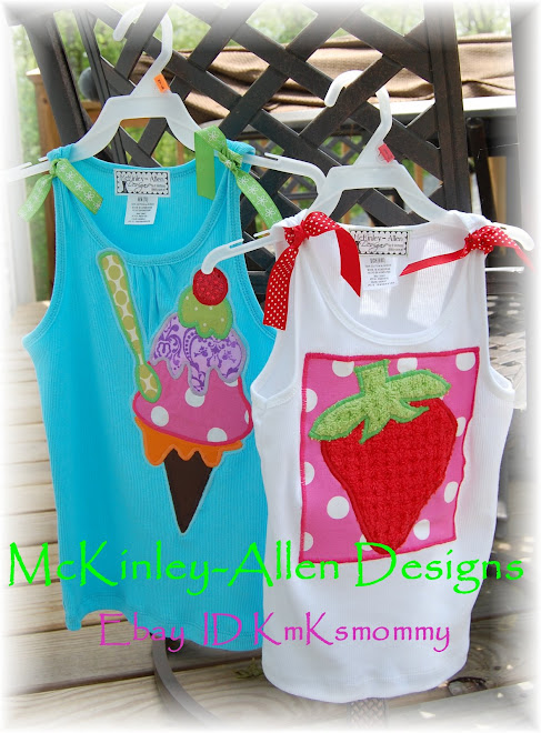 ~Appliqued Summer Tanks~ $35