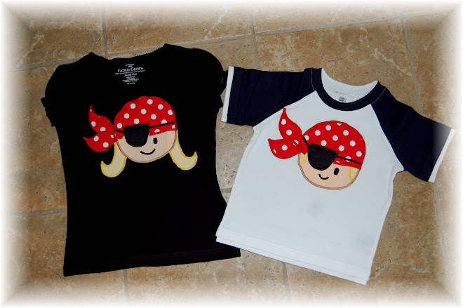 Boy/ Girl Pirates $35