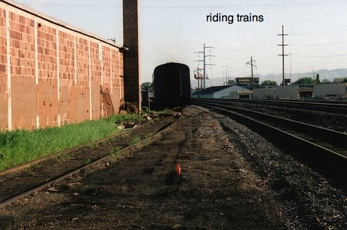 riding trains