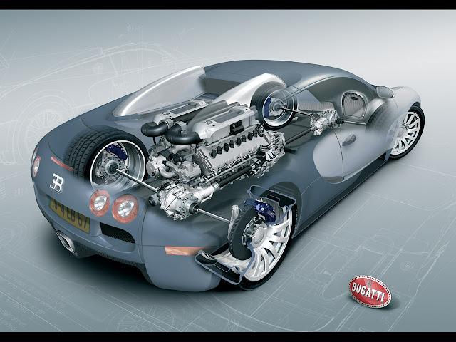 Bugatti Veyron consep