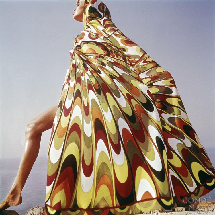 1960s Pucci modeled by Veruschka