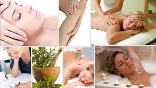 dagtid massage mörk hud