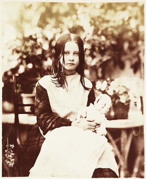 Elinor Amy Dillwyn Llewelyn. Other title : 'Elinor 1853'. Photographer: John Dillwyn Llewelyn. Date: 1853. Medium: Print taken from a collodion negative.