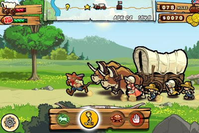 Oregon Trail iPod Touch Game from Gameloft