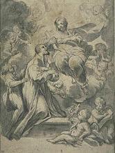 Saint Bernard par  Romanelli