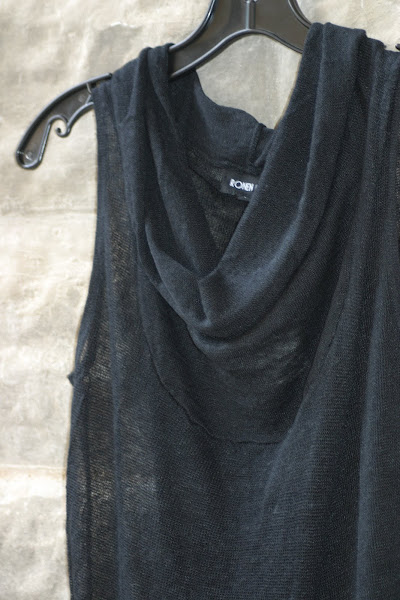 Detail of Cowl Neck