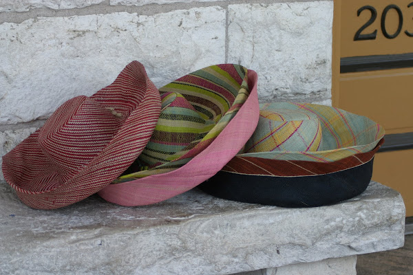 Truely packable hats in colors and prints!