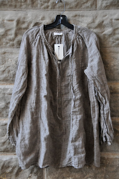 CPShades Linen Panel Blouse