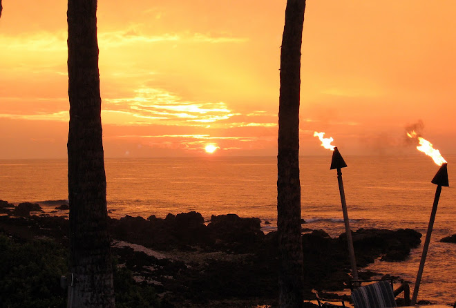 Our Last Sunset in Kona, Hawaii ~January 2006~