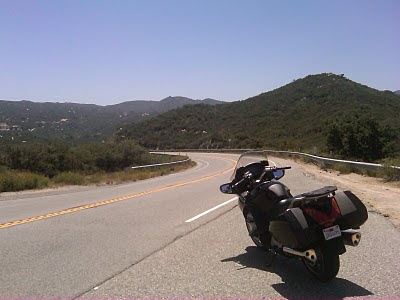 ortega highway motorcycle