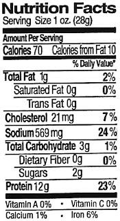 beef jerky nutrition