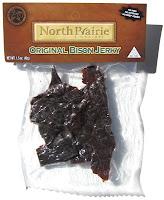 North Prairie Signature Bison Jerky - Original