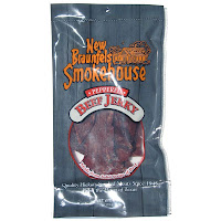 New Braunfels Smokehouse beef jerky