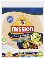 mission carb balance tortillas