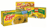 LEGO shaped Eggos