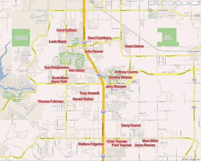 Menifee City Council Map
