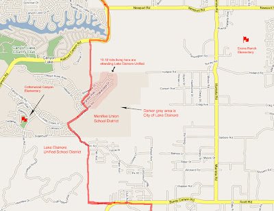 canyon hills map