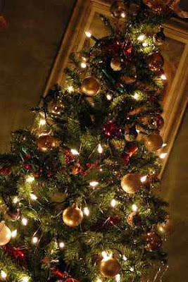 Prelit Artificial Tree Decorated