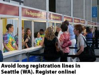 Register Early. Register online!