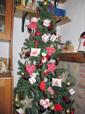Labores de mari angeles adornos artesanos para el arbol - Adornos navidenos para el arbol ...