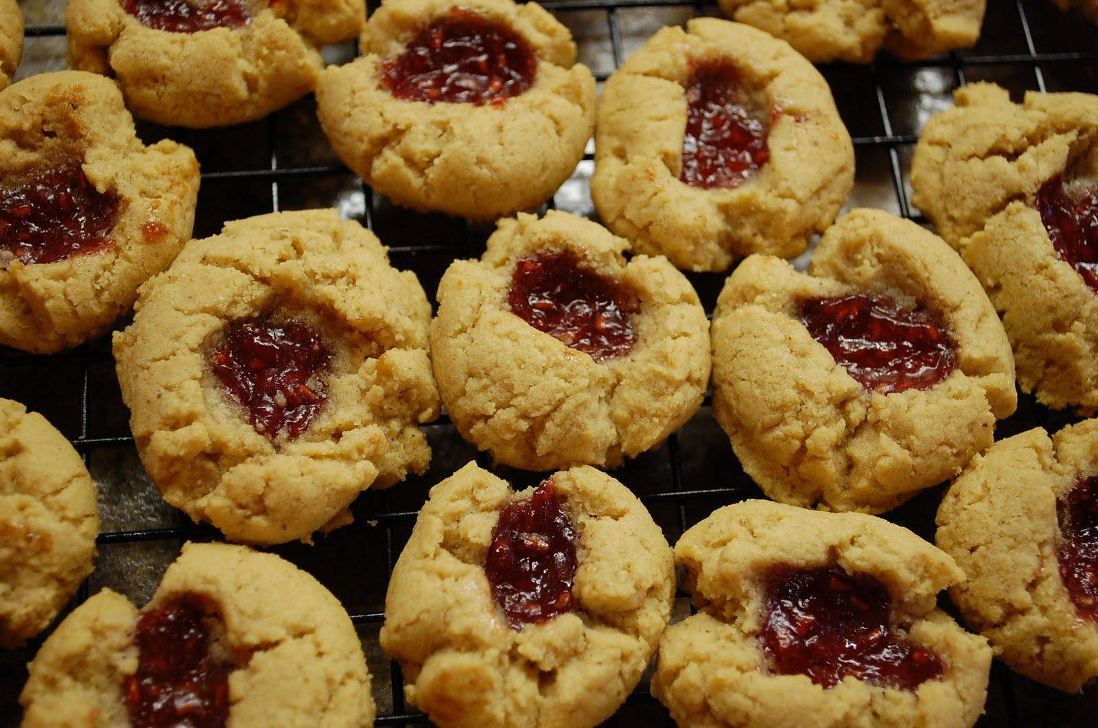 Every Pot and Pan: Flourless Peanut Butter and Jelly Cookies