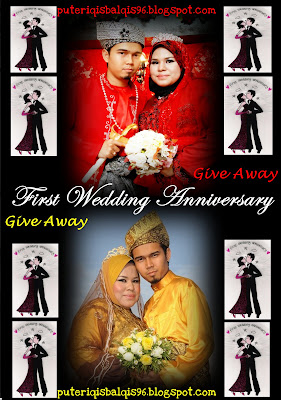 :: First Wedding Anniversary *GIVE AWAY* ::