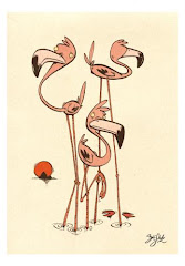 Flamingo's Three
